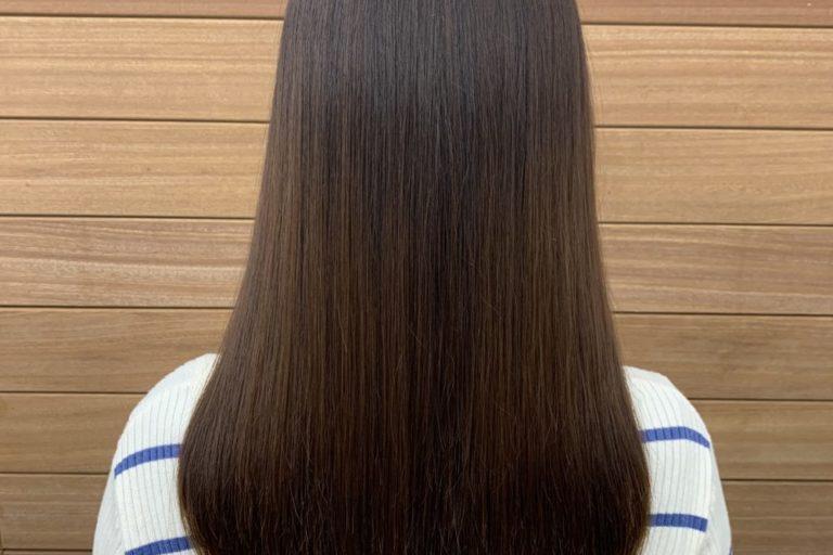 美髪カラーでツヤツヤ髪へ!